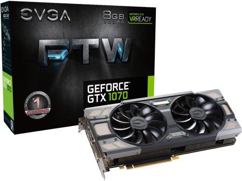 EVGA GeForce GTX 1070 FTW Gaming ACX 3.0
