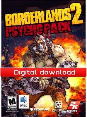 Borderlands 2 Psycho Pack til Mac
