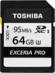 Toshiba Exceria Pro N401 SDXC 64GB