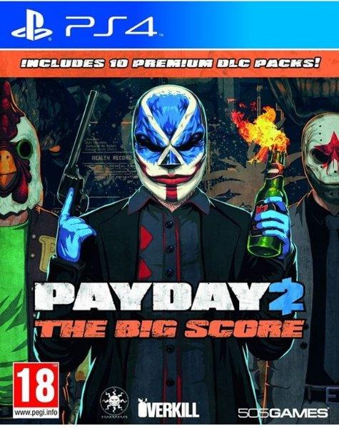 PayDay 2: The big score til Playstation 4