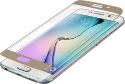 Zagg invisibleSHIELD GLASS Curved Screen Coverage Samsung Galaxy S6 Edge