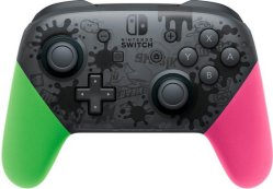 Nintendo Switch Pro Splatoon 2 Edition Controller