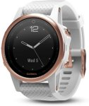 Garmin Fenix 5S Rose Goldtone Sapphire with White Band (010-01685-17)