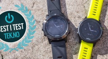 Test: Garmin Fenix 5X Slate Gray Sapphire with Black Band (010-01733-01)
