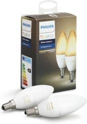 Philips Hue White Ambiance E14 2pk