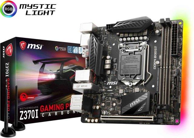 MSI Z370 Gaming Pro Carbon AC (Mini-ITX)