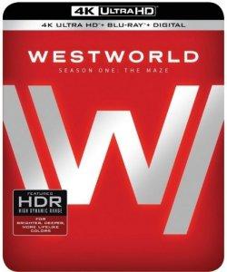 Westworld Sesong 1 (Blu-ray 4K)