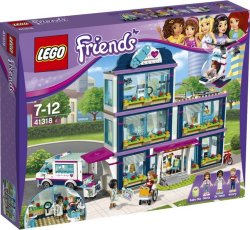 LEGO Friends Sykehuset i Heartlake 41318