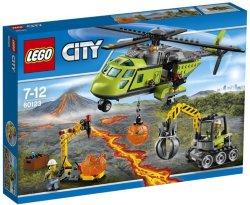 LEGO City Vulkanforskernes forsyningshelikopter med minifigurer 60123