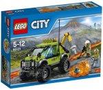 LEGO City Vulkanforskernes kjøretøy med minifigurer 60121