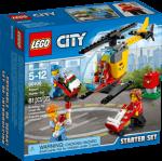 LEGO City Flyplass, startsett med helikopter 60100