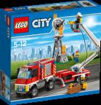 LEGO City Brannvesenets tjenestekjøretøy med minifigurer 60111
