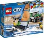 LEGO City Terrengbil 4x4 med katamaran 60149