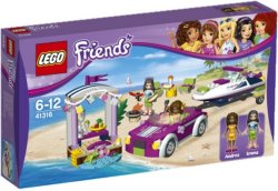 LEGO Friends Andreas Bil med speedbåthenger 41316