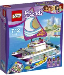 LEGO Friends Katamaran med tre minifigurer 41317