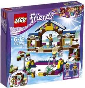 LEGO Friends Vintersportstedets Skøytebane med minifigurer 41322
