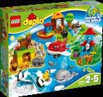 LEGO Duplo Verden Rundt, mye moro! 10805