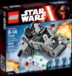 LEGO Star Wars First Order-Snowspeeder, snøsoldater/snøoffiser 75100
