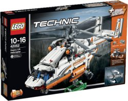 LEGO Technic Tungt transporthelikopter, 2-i-1 modell 42052