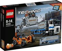 LEGO Technic Containerhavn - med lastebil 42062
