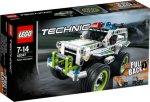 LEGO Technic Politiets innsatskjøretøy 42047