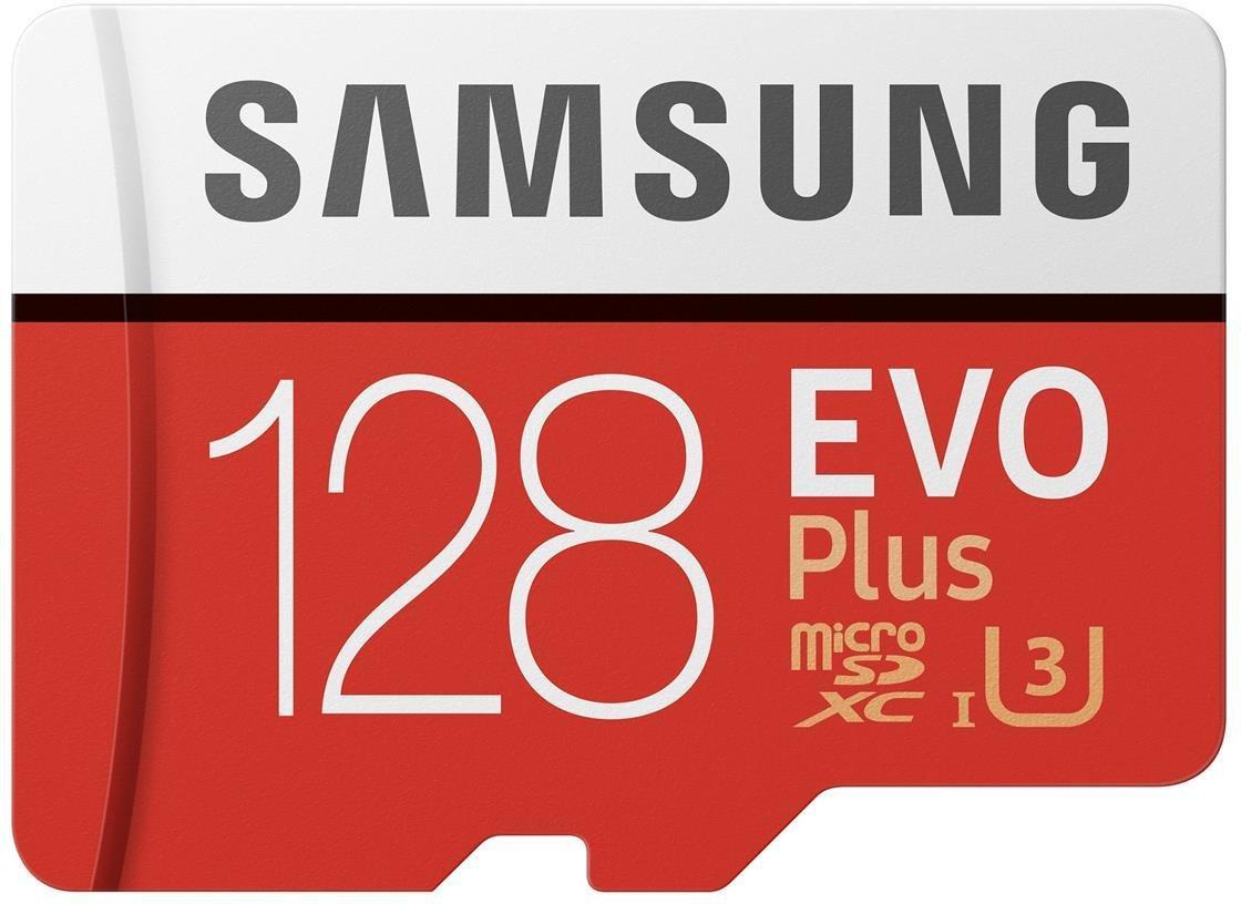 Samsung micro SDXC Evo plus 128GB med SD-adapter Mb8ePf