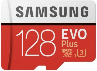 micro SDXC Evo plus 128GB med SD-adapter