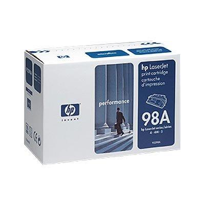 HP LaserJet 98A Svart