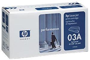 HP LaserJet 03A Svart
