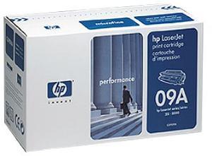 HP LaserJet 09A Svart