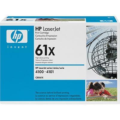 HP LaserJet 61X Svart