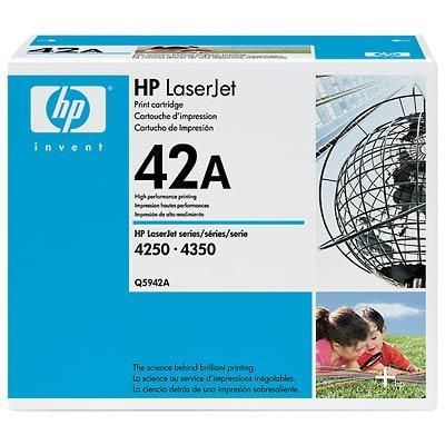 HP LaserJet 42A Svart