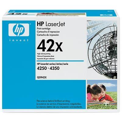 HP LaserJet 42X Svart