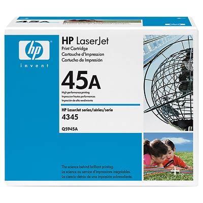 HP LaserJet 45A Svart
