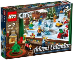 LEGO City 60155 Adventskalender