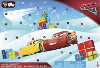 Disney Pixar Cars 3 Adventskalender