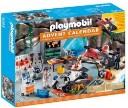 Playmobil Spy Team-verkstedet 9263 Adventskalender