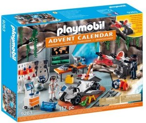 Playmobil 9263 Spy Team-verkstedet adventskalender