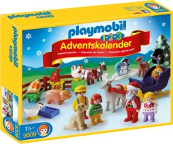 Playmobil Jul på Bondegården 9009 Adventskalender