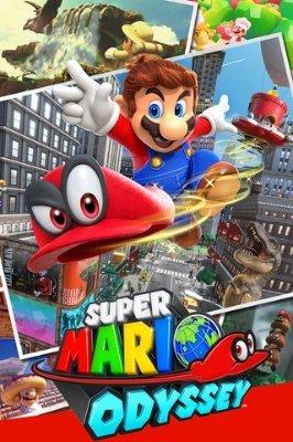 Super Mario Odyssey til Switch