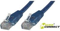 MicroConnect CAT6 UTP Cable 25M Blue