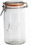 Hadeland Glassverk Norgesglasset med hengslet lokk 1,0L