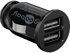 Goobay USB lader 2xUSB 3,1A
