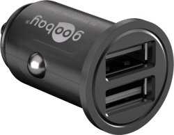 Goobay USB lader 2xUSB 4,8A