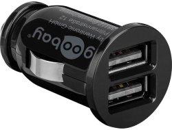 Goobay USB lader 2xUSB 2,1A