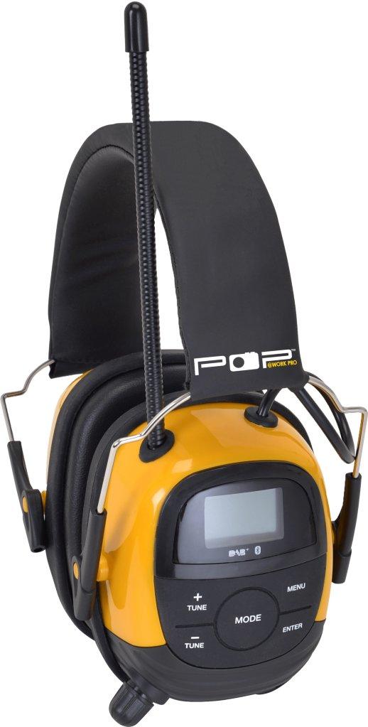 Sahaga Pop@work Pro DAB+ Bluetooth hørselvern