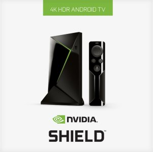 Nvidia Shield TV 16GB + Fjernkontroll