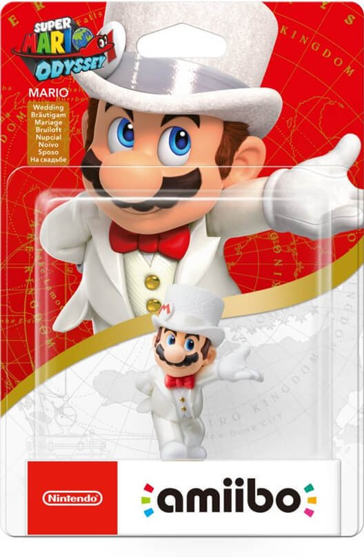 Nintendo Amiibo Super Mario Wedding