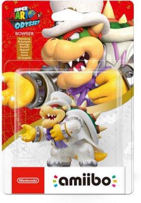 Nintendo Amiibo Super Mario Wedding Bowser