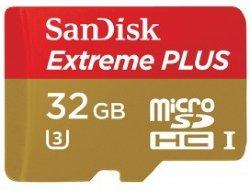 SanDisk Extreme Plus MicroSDHC 32GB UHS-I